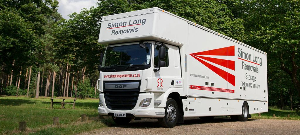 simon long removal van